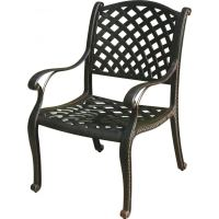 Darlee Nassau Cast Aluminum Patio Dining Chair : Ultimate ...
