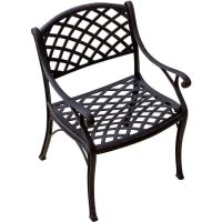 Heritage Cast Aluminum Patio Dining Chair By Lakeview ...