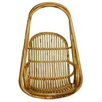 SOLID CANE HANGING CHAIR ( FREE METAL CHAIN)