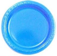 Buy Party-Anthem Solid Color Paper Plates-Blue. Online in ...