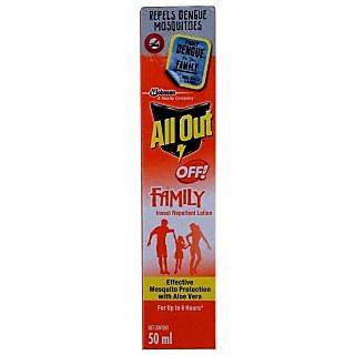 All Out Insect Repellent Lotion 50ml BUY 1 GET 1 FREE