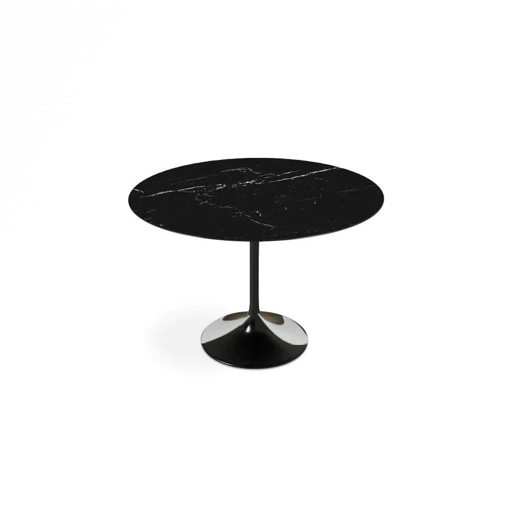 Oval Dining Table Canada Black Carrara Marble Tulip Dining Table Round