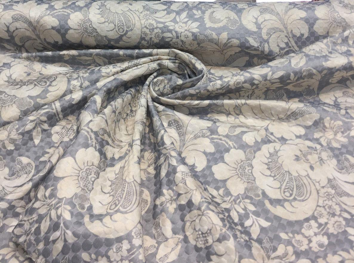 Quilted Fabric Pk Waverly Distinctly Damask Shale Multipurpose Quilted Fabric By