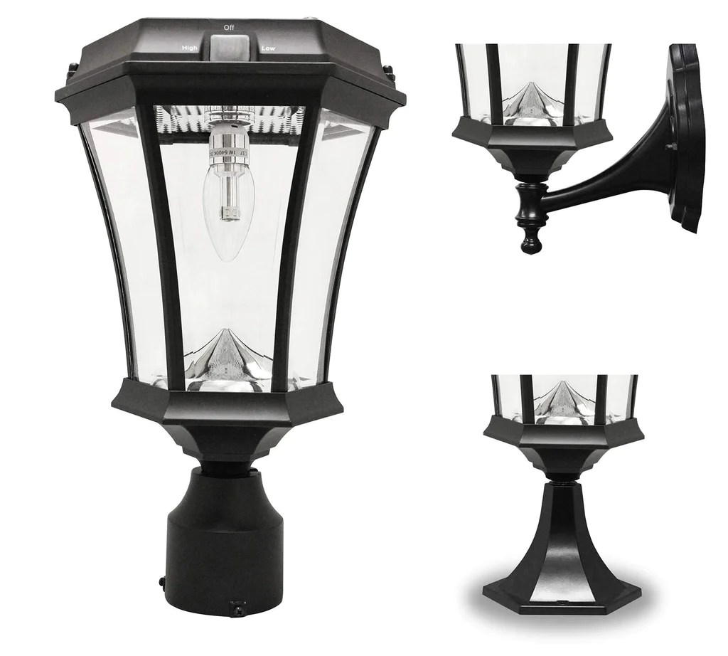 Solar Lamp Post Gama Sonic Victorian Solar Light Post Gs Solar Light Bulb Single Light