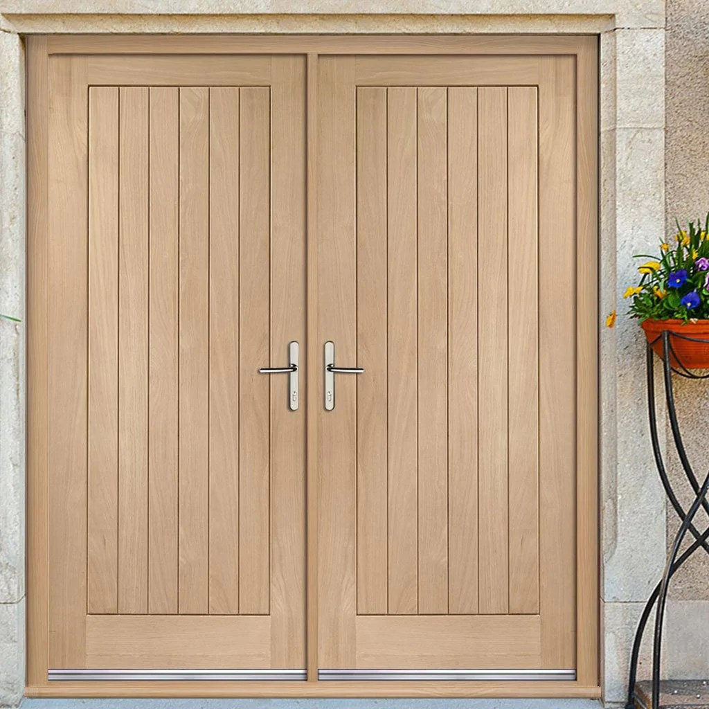 Design Your Own Internal Door Suffolk Exterior Oak Double Door And Frame Set
