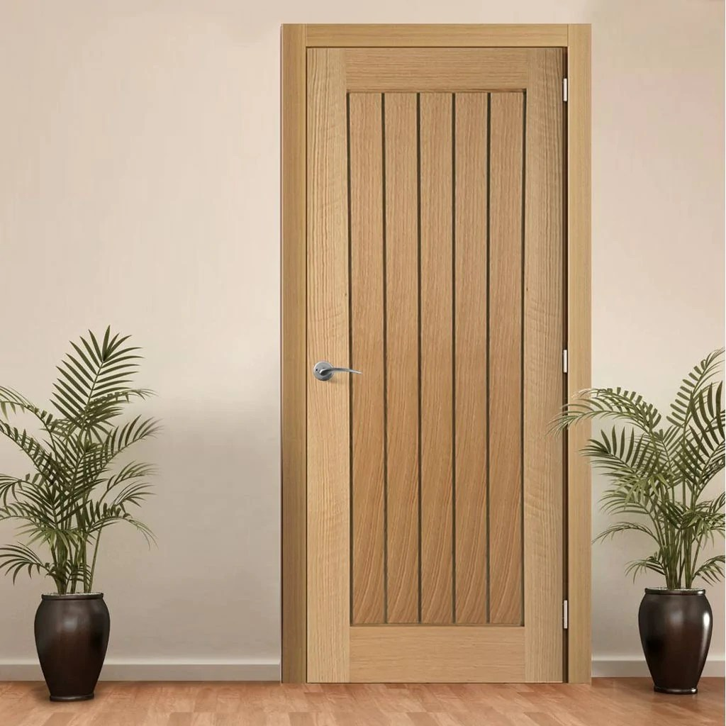 Dsk Doors Door And Frame Kit Mexicano Oak Door Vertical Lining