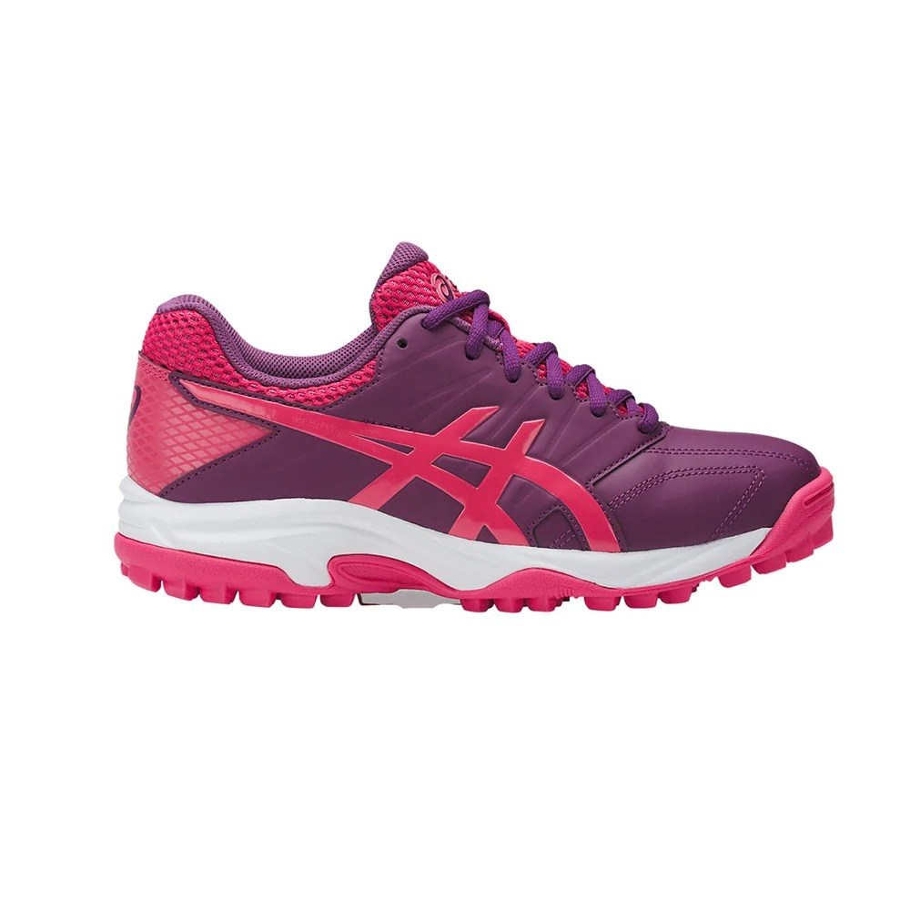 Zapatillas Con Suela De Gel Zapatillas Hockey Asics Gel Lethal Mp 7 Violeta Rojo