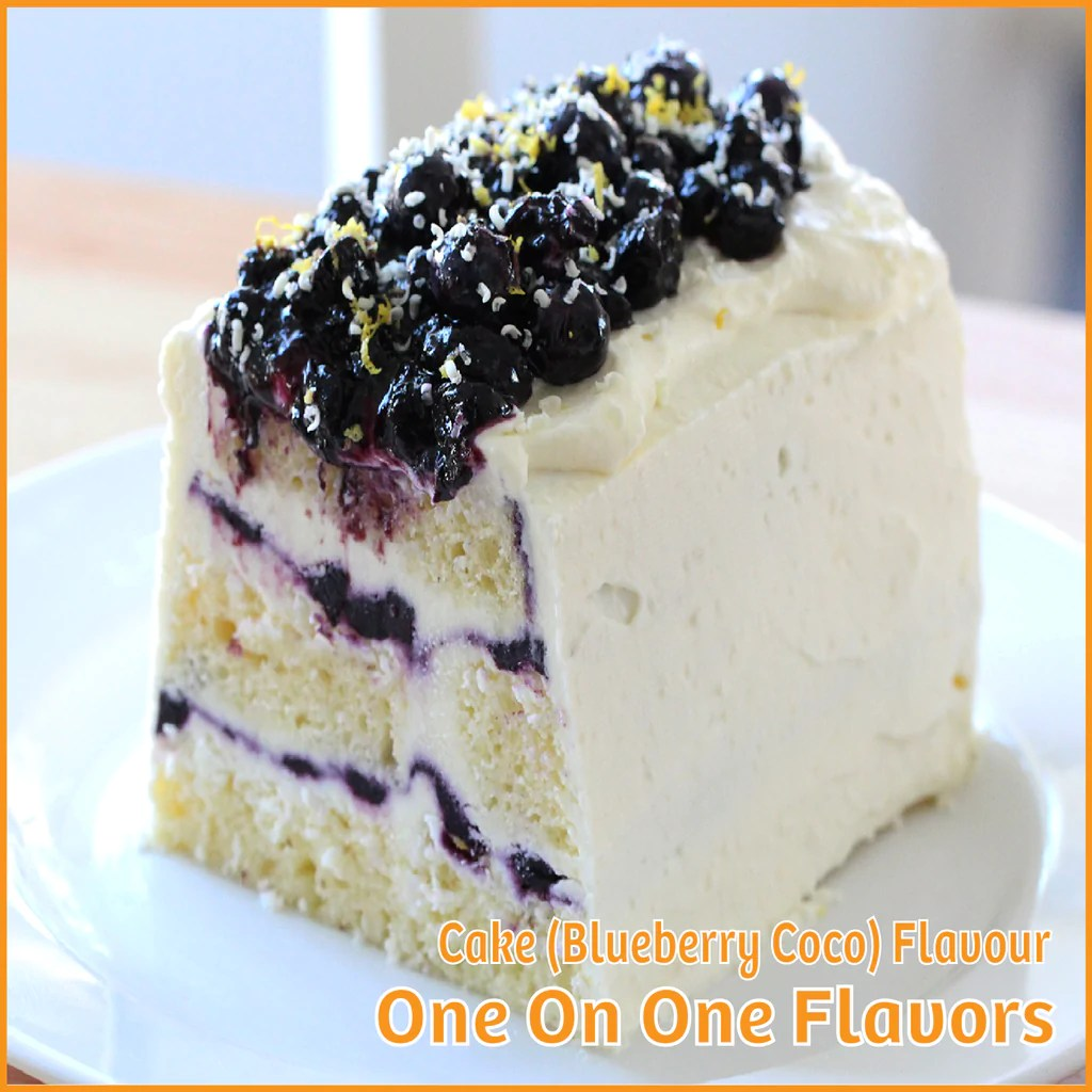 Cocos Kuchen Cake Blueberry Coco Flavour One On One Flavors