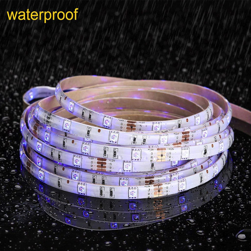 Led Strip Waterproof Waterproof Led Strip Lights Bulbhead Bulbhead