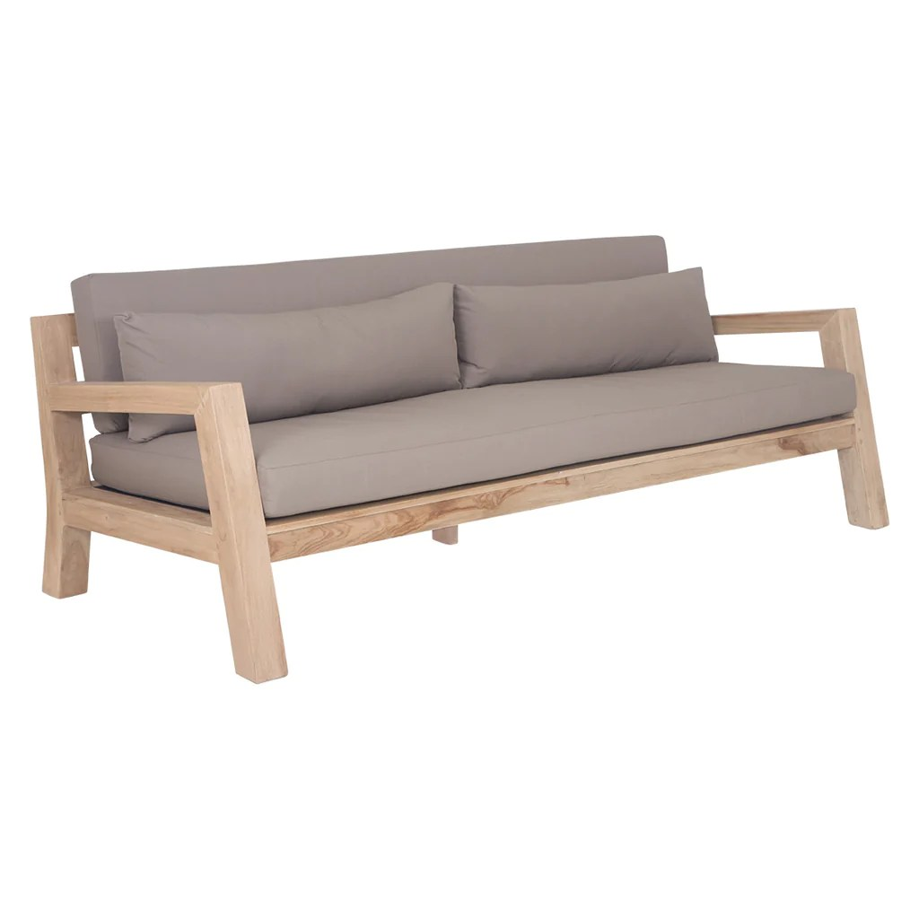 Outdoor Couch Harper Outdoor Sofa Three Seater