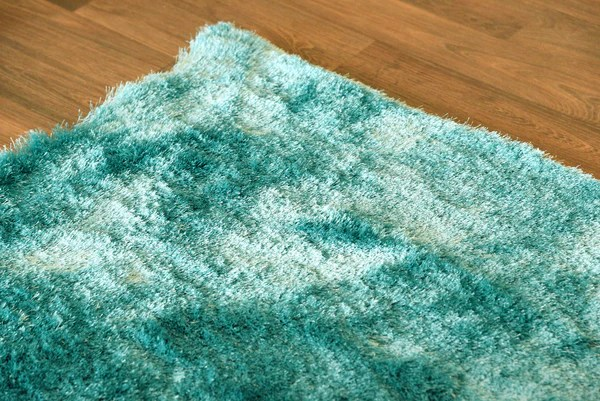 Rustic Bar Stools Plush Teal Luxurious Modern Shag Rug - Woodwaves
