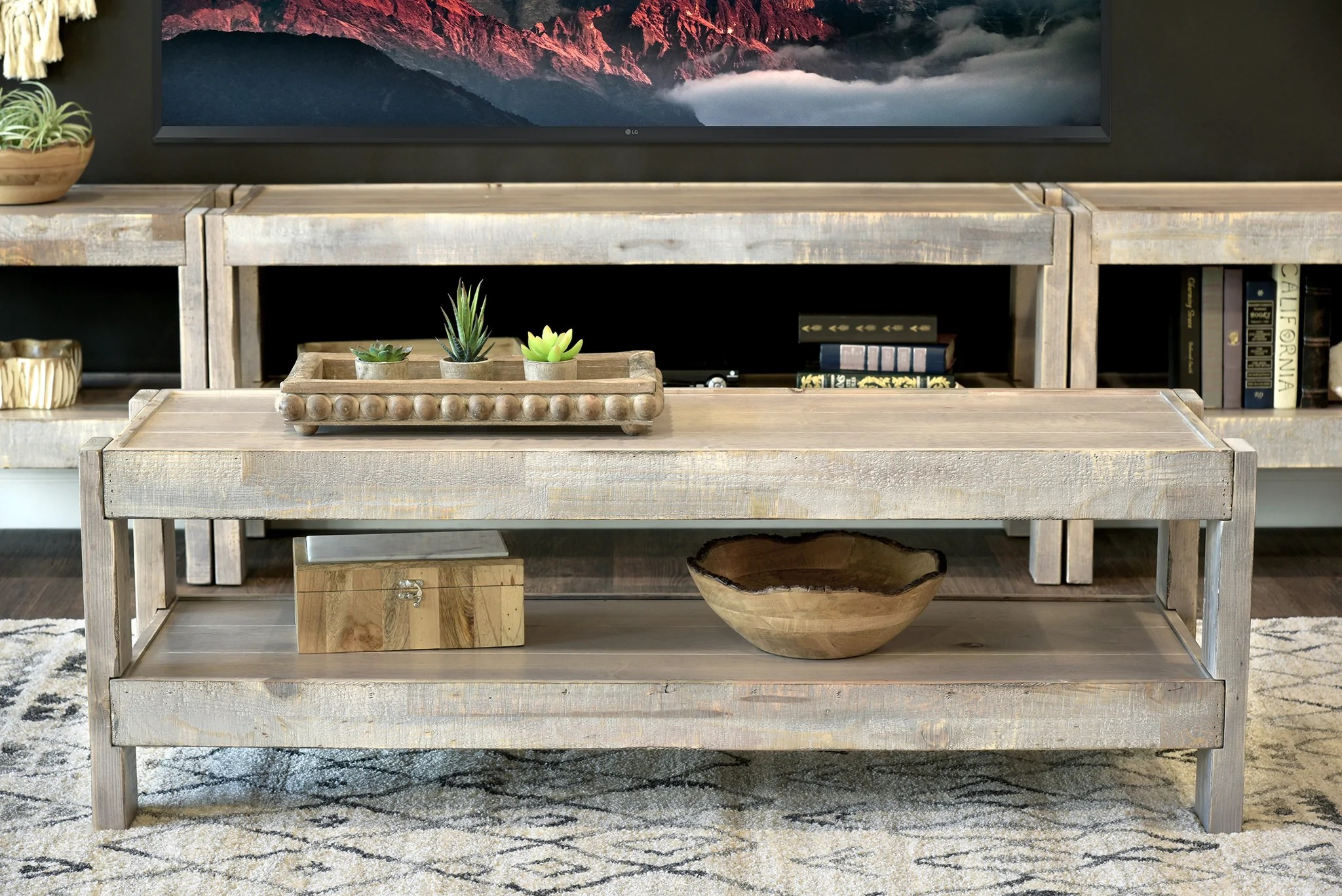 Farmhouse Coffee Shop Coffee Tables Woodwaves