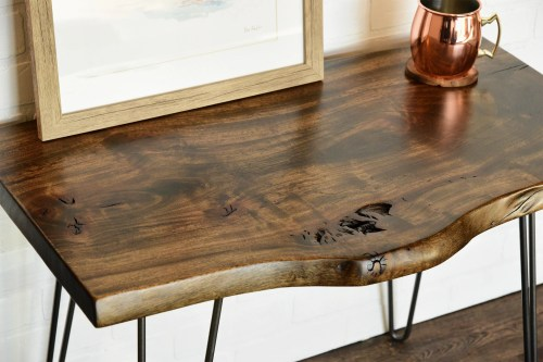 Medium Of Rustic End Tables