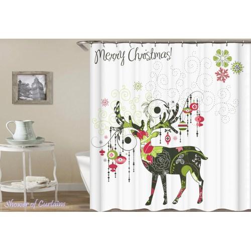 Medium Crop Of Christmas Shower Curtains