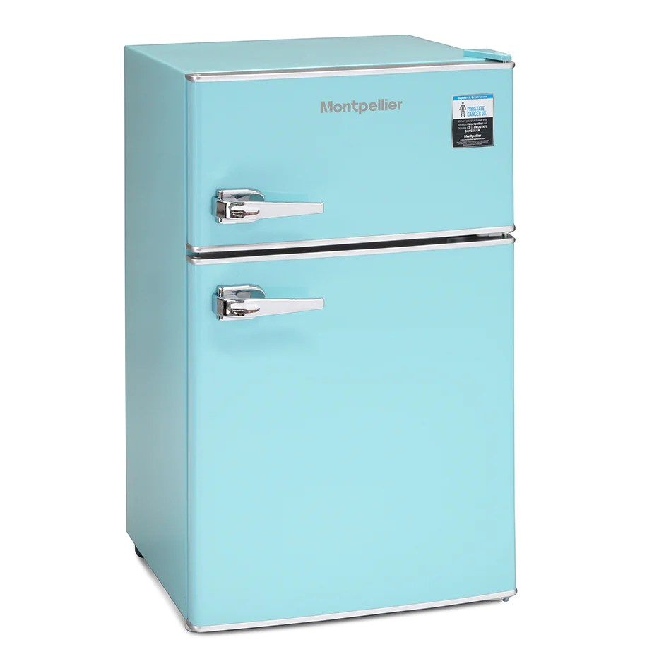 Fridge Freezer Montpellier Mab2030pb 80 20 Fridge Freezer Blue