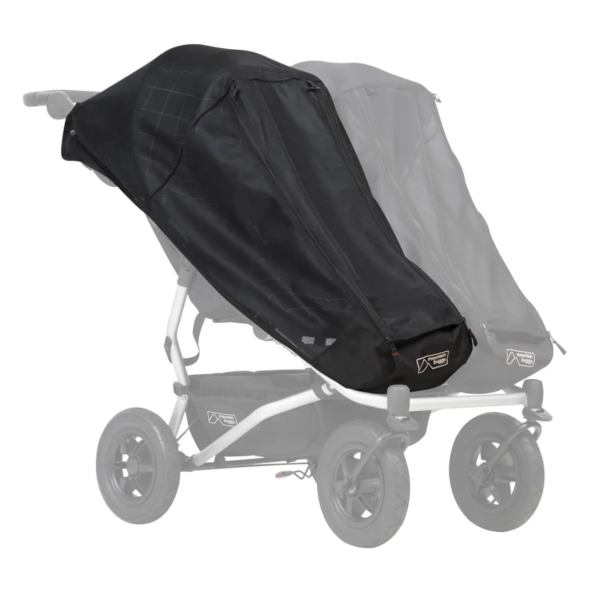Stroller Mesh Cover Mountain Buggy Duet V3 Single Stroller Mesh Cover