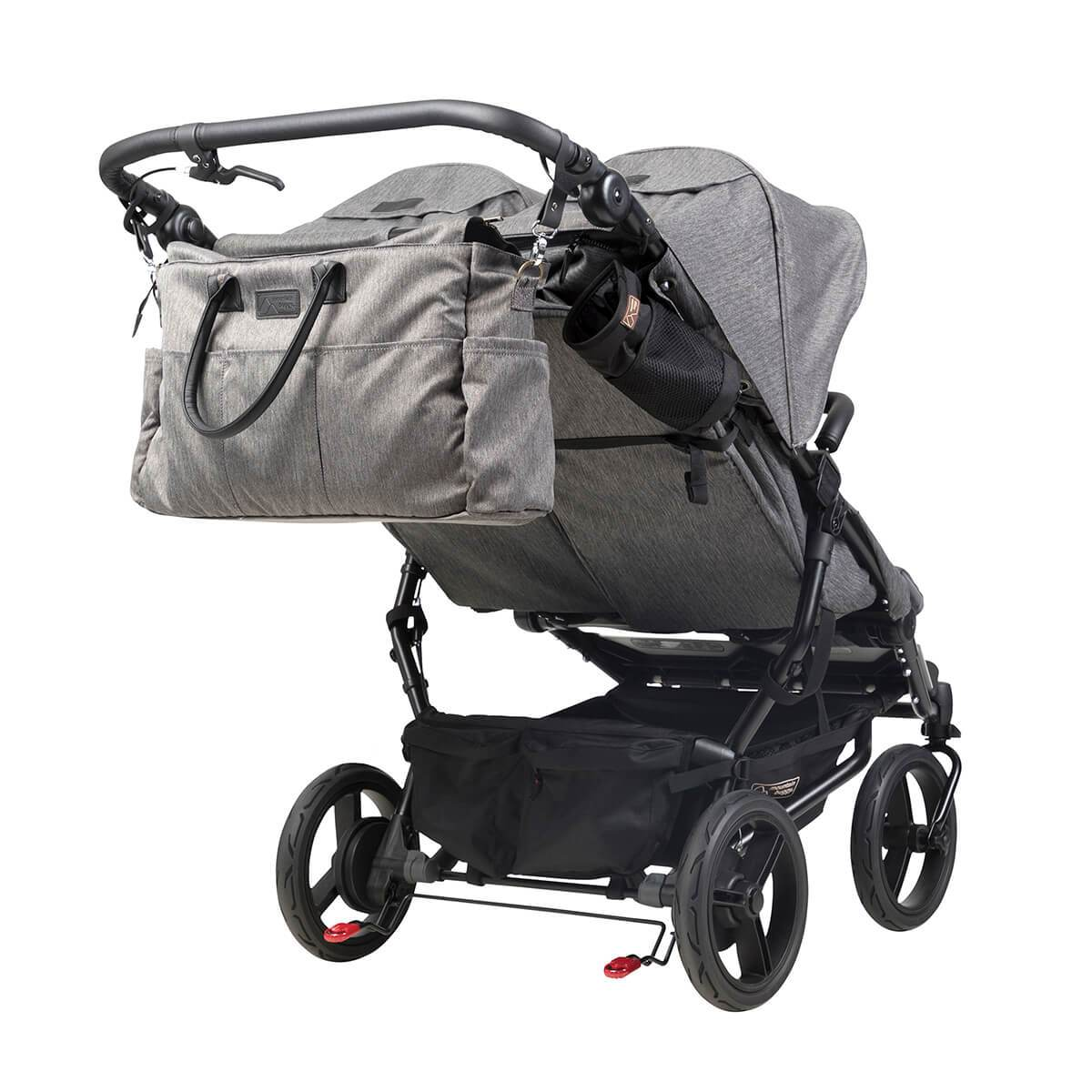 Mountain Buggy Duet Review Mountain Buggy New Duet Luxury Herringbone Grey Slim Double