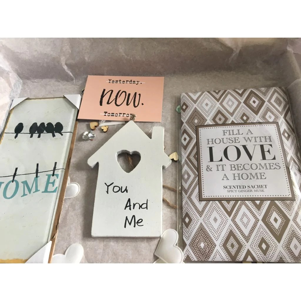 Personalised New Home Gifts A4 Box Of Happy New Home Gift For Couple