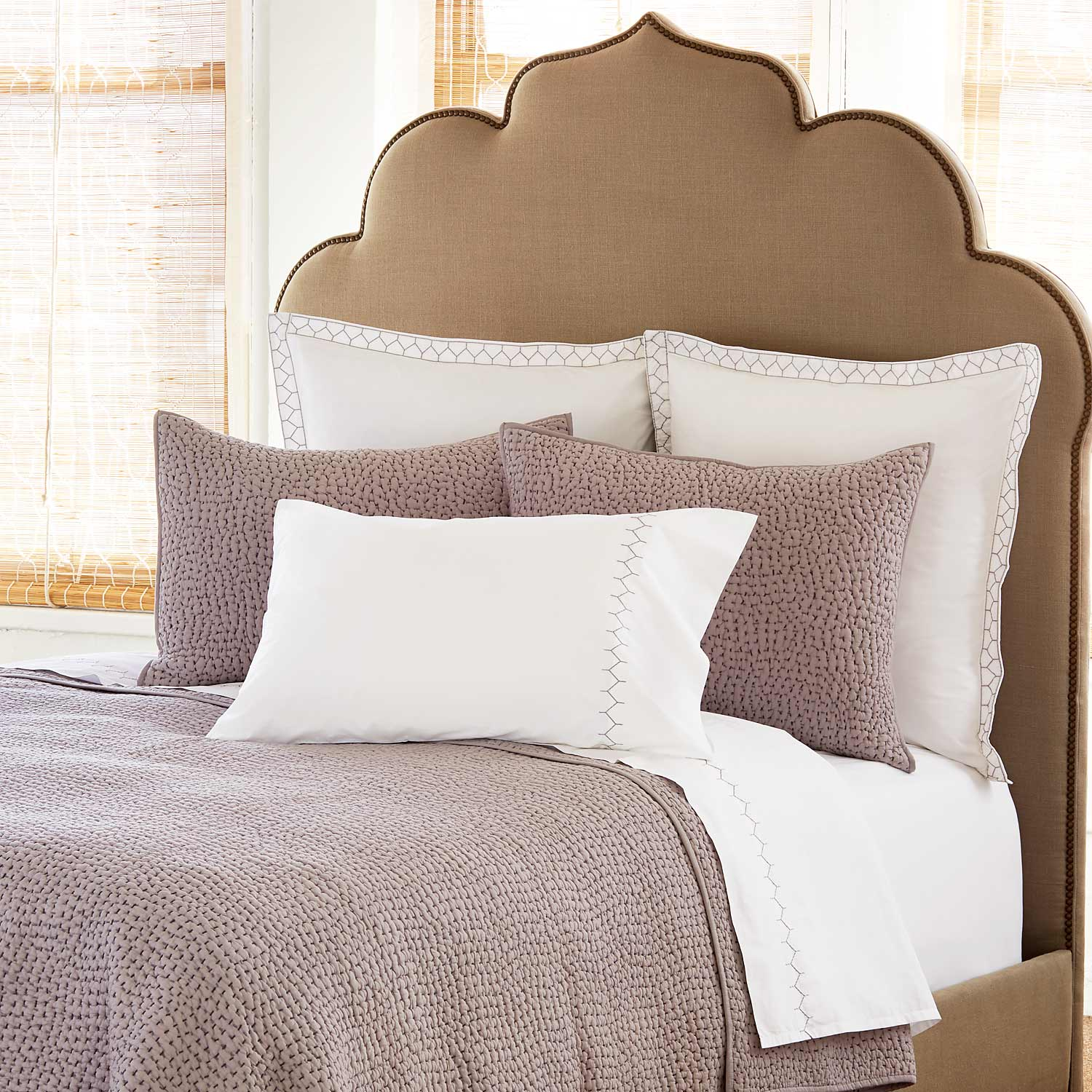 Bed Coverlet Dyed Gray Coverlet Set