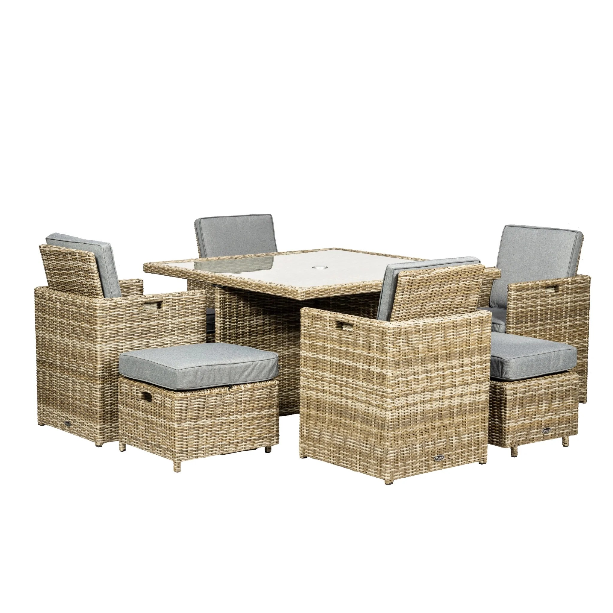 Wentworth 8 Seater Cube Set Ncf Living