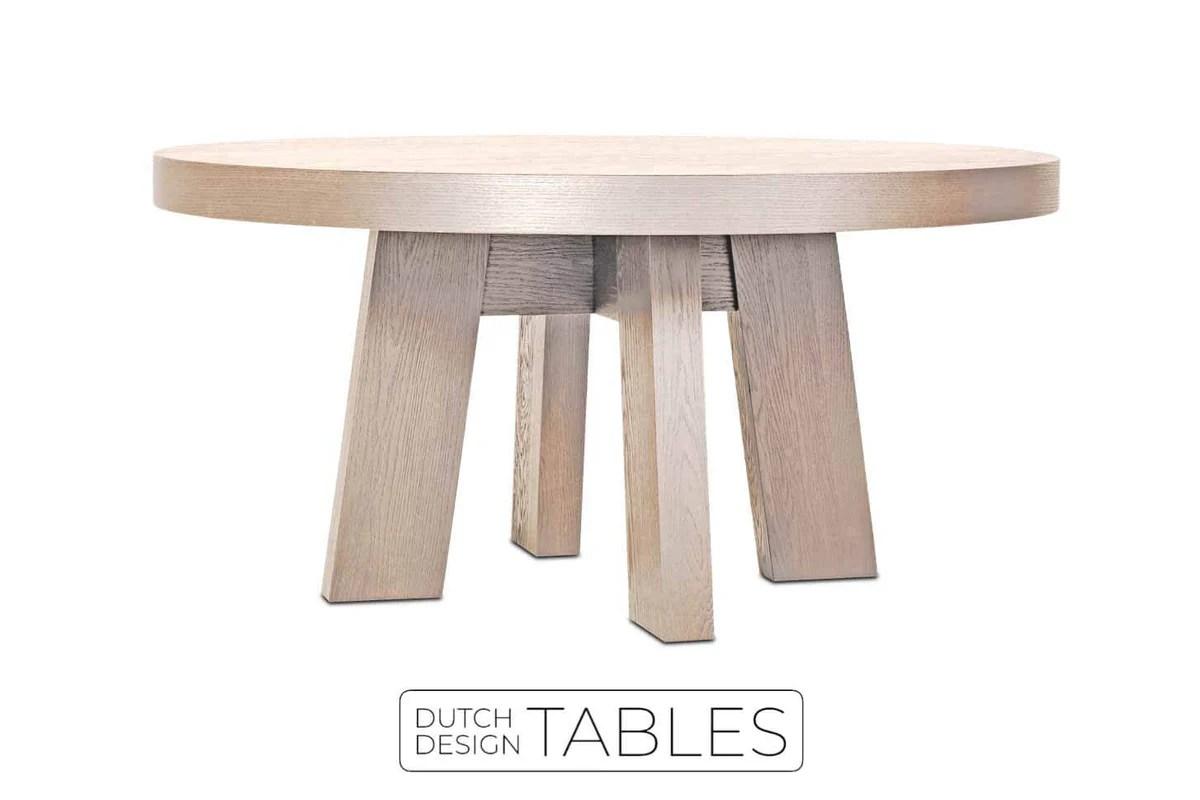 Woood Tafel Rond : Eiken tafel rond woood tafel rond gallery of woood eettafel