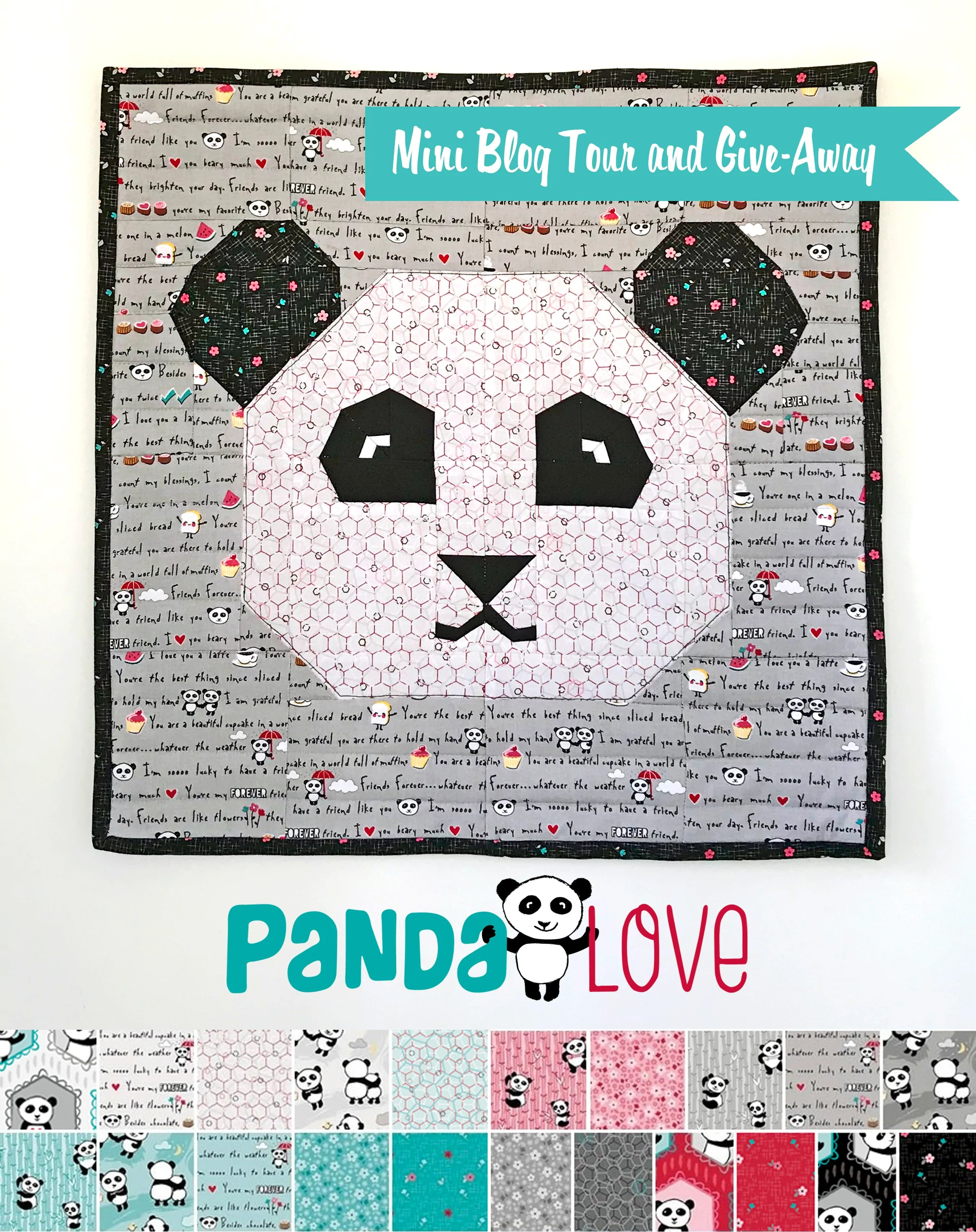 Quilt Und Patchwork Pakete Panda Love Mini Tour And Give Away Kelly Panacci