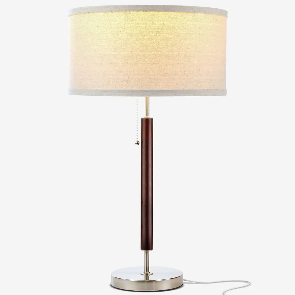 Desk Lamp Carter Desk Led Side Table Nightstand Desk Lamp Wood Finish