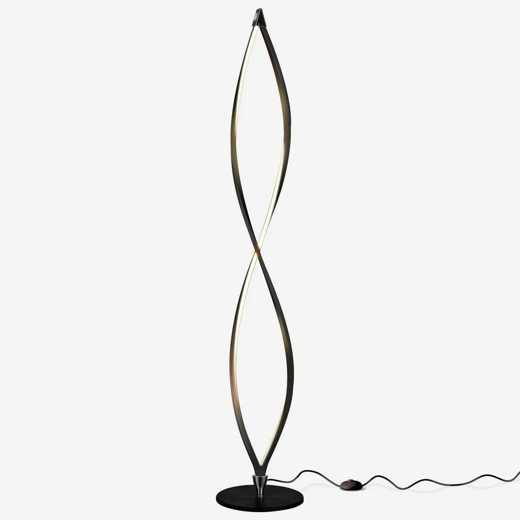 Modern Lamps Led Twist Led Floor Lamp Unique Modern Dimmable