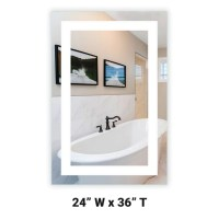 Shop Flush-Mounted LED Medicine Cabinets  Mirrors and Marble