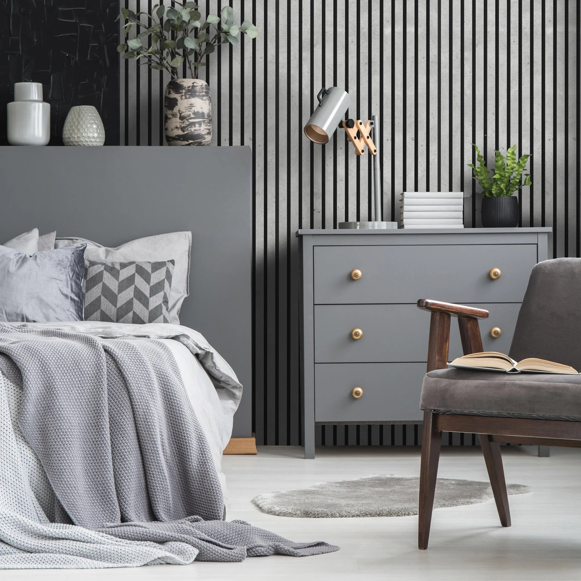 Wall Panelling Ideas For A Bedroom Or Bathroom