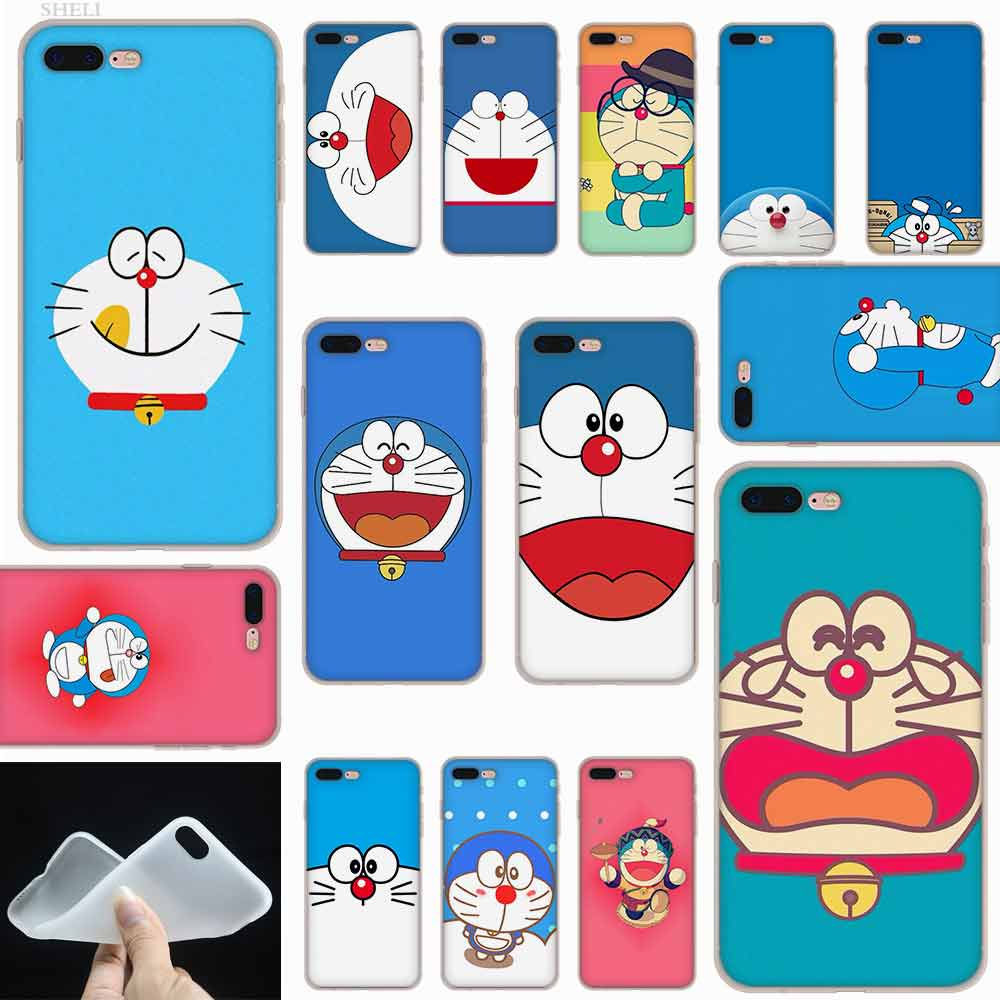 Gambar Foto Doraemon Sheli Gambar Doraemon Hd Frosted Softness Transparent Case Cover For Iphone X Xs Xr Max Se 5 5s 6 6s 7 8 Plus