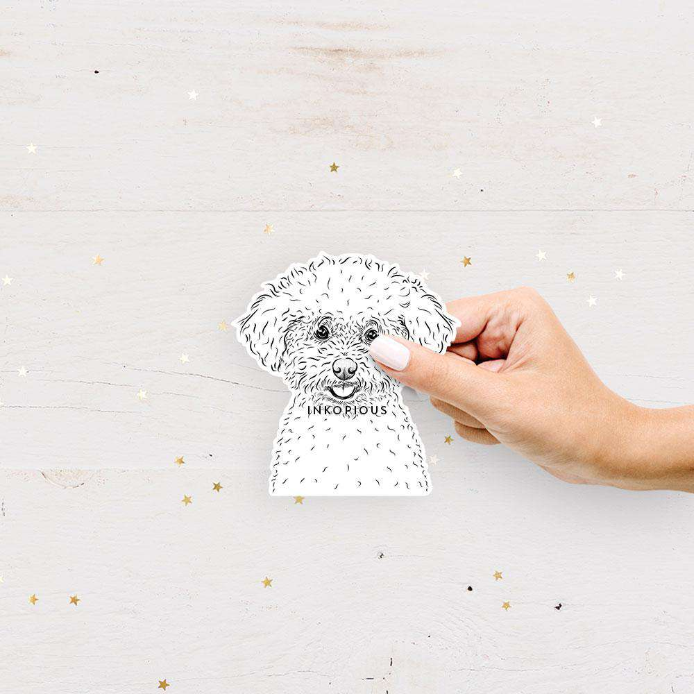 Frise Sticker Mickey The Bichon Frise Decal Sticker