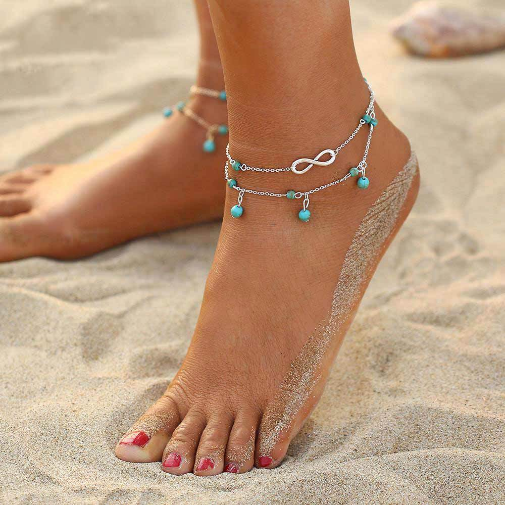 Carte Blanche Anklets Infinity Anklet