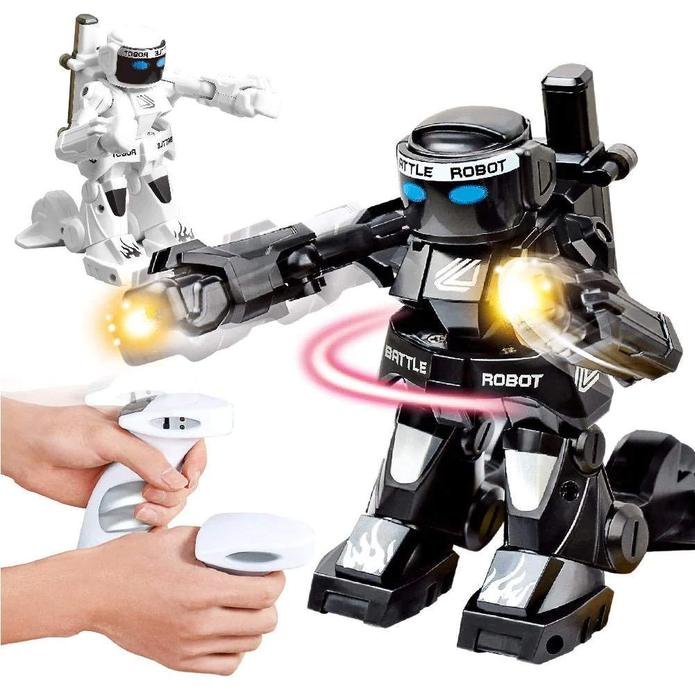 Children Robot Battle Boxer Rc Robot 2 4g Body Sense Remote Control Children Toys