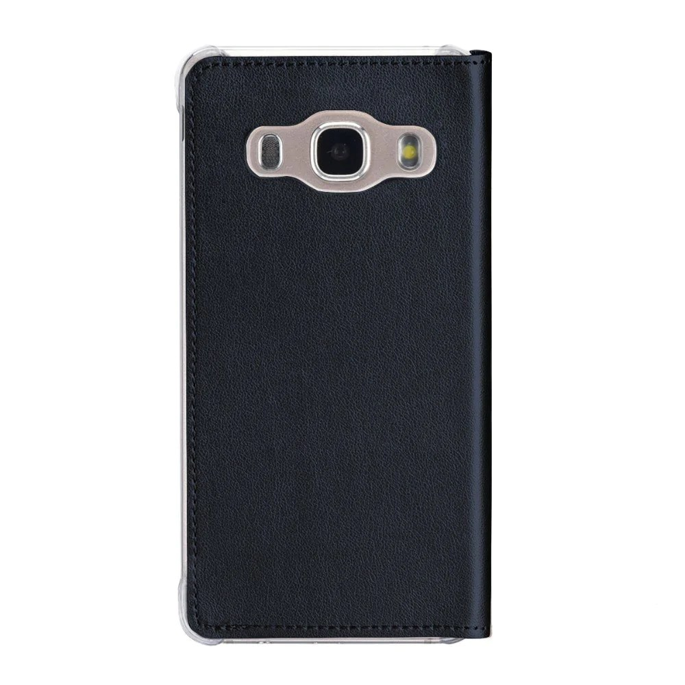 Mobile De24 Smart Window View Flip Stand Case For Samsung Galaxy J5 2016 Retro Flip Pu Leather Case For Samsung J510