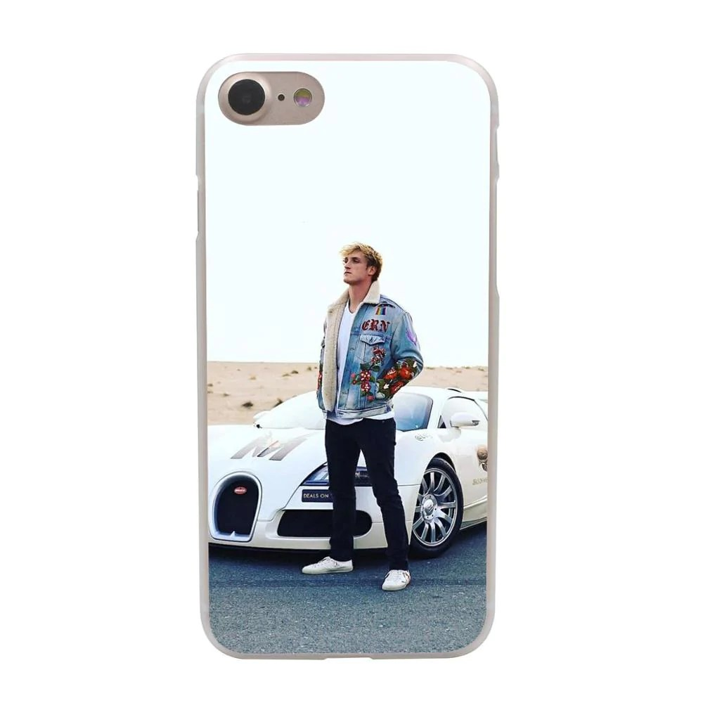 Mobile De24 Celebrity Jake Paul Team 10 Hard Plastic Cheap Phone Case For Iphone 6s 7 Plus 5 5s Se Logan Paul Martinez Twins Cover
