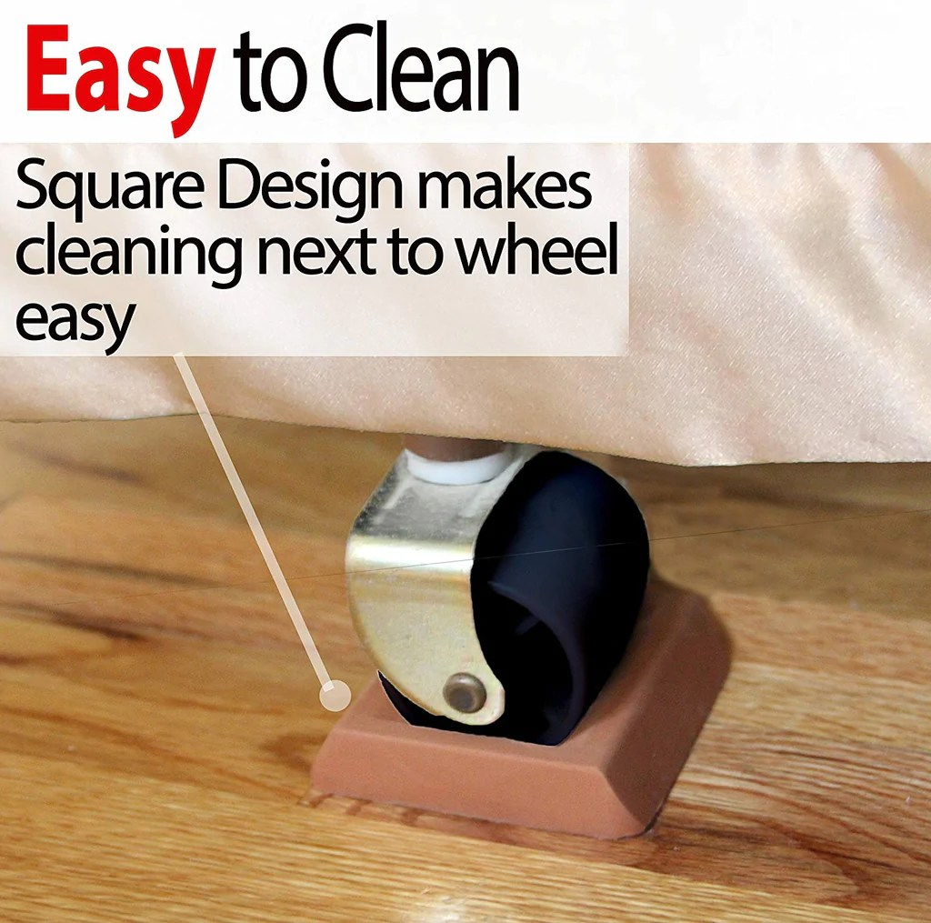 Bed Wheel Stoppers Bed Furniture Stopper Caster Cups Prevents Scratches To Your