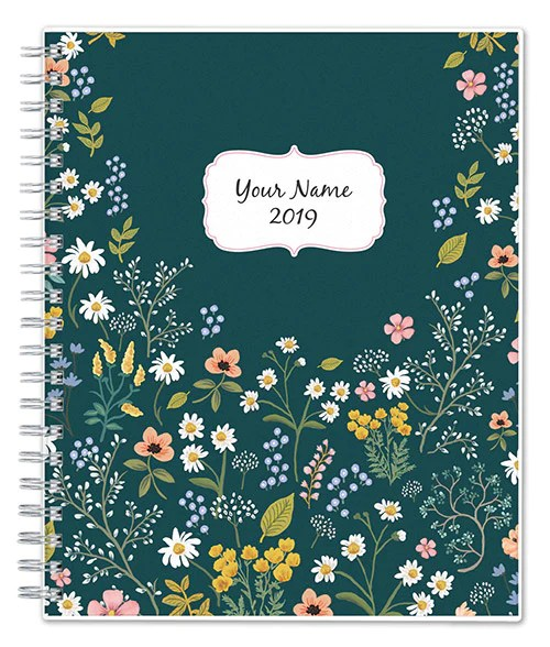 monthly and weekly planners