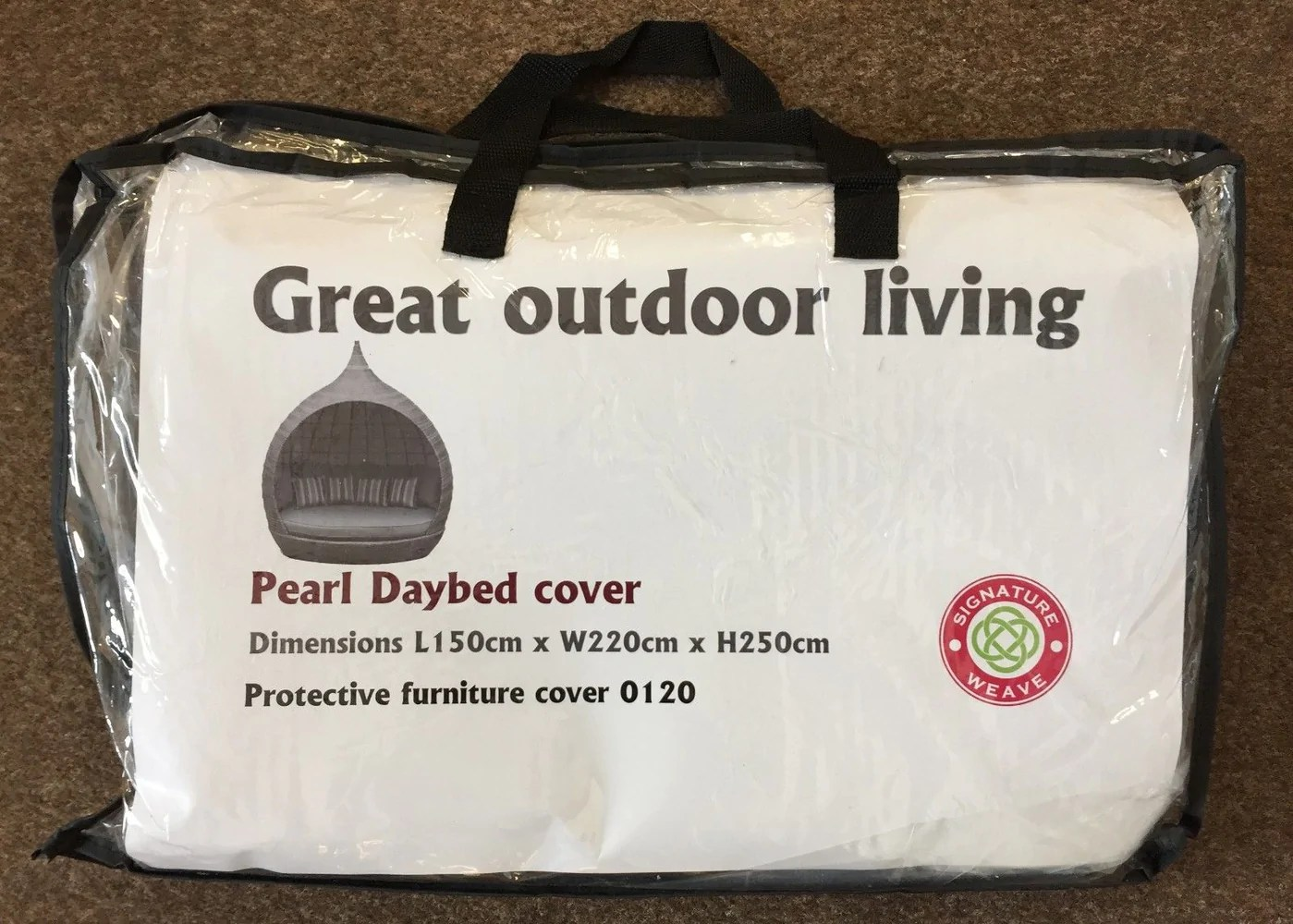 Pearl Daybed Outdoor Pearl Day Bed Cover Only