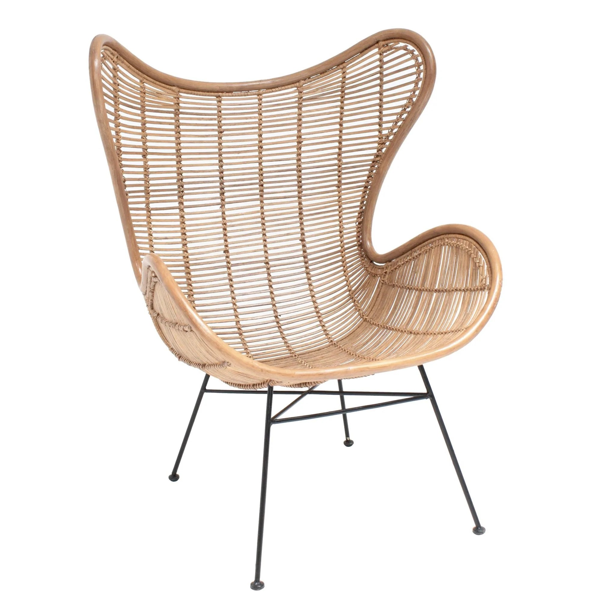 Egg Chair Kaufen Rattan Sessel Eggchair Natural