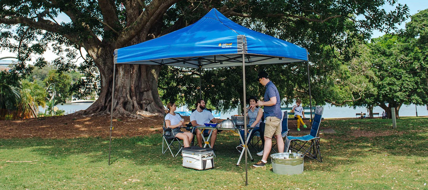 Pop Up Gazebo Bunnings Oztrail Outdoor And Camping Equipment