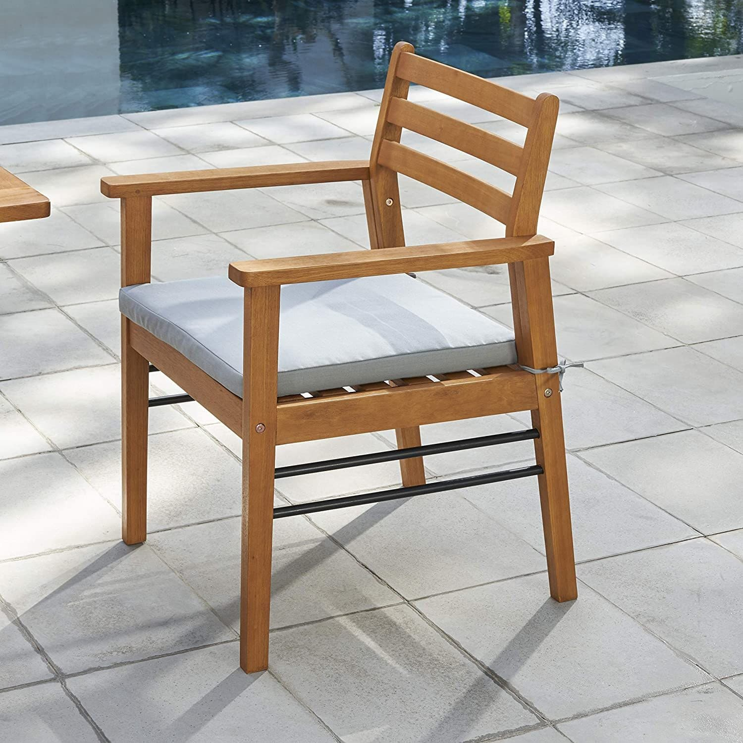 Vifah Gloucester Contemporary Patio Wooden Dining Chair Senior Com - Garden Furniture Clearance Gloucester
