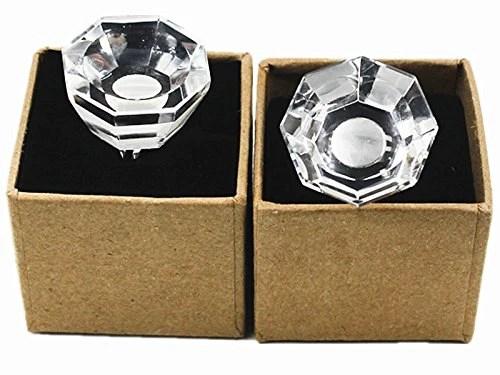 Moyishi Adjustable Eyelash Extension Crystal Glue Ring