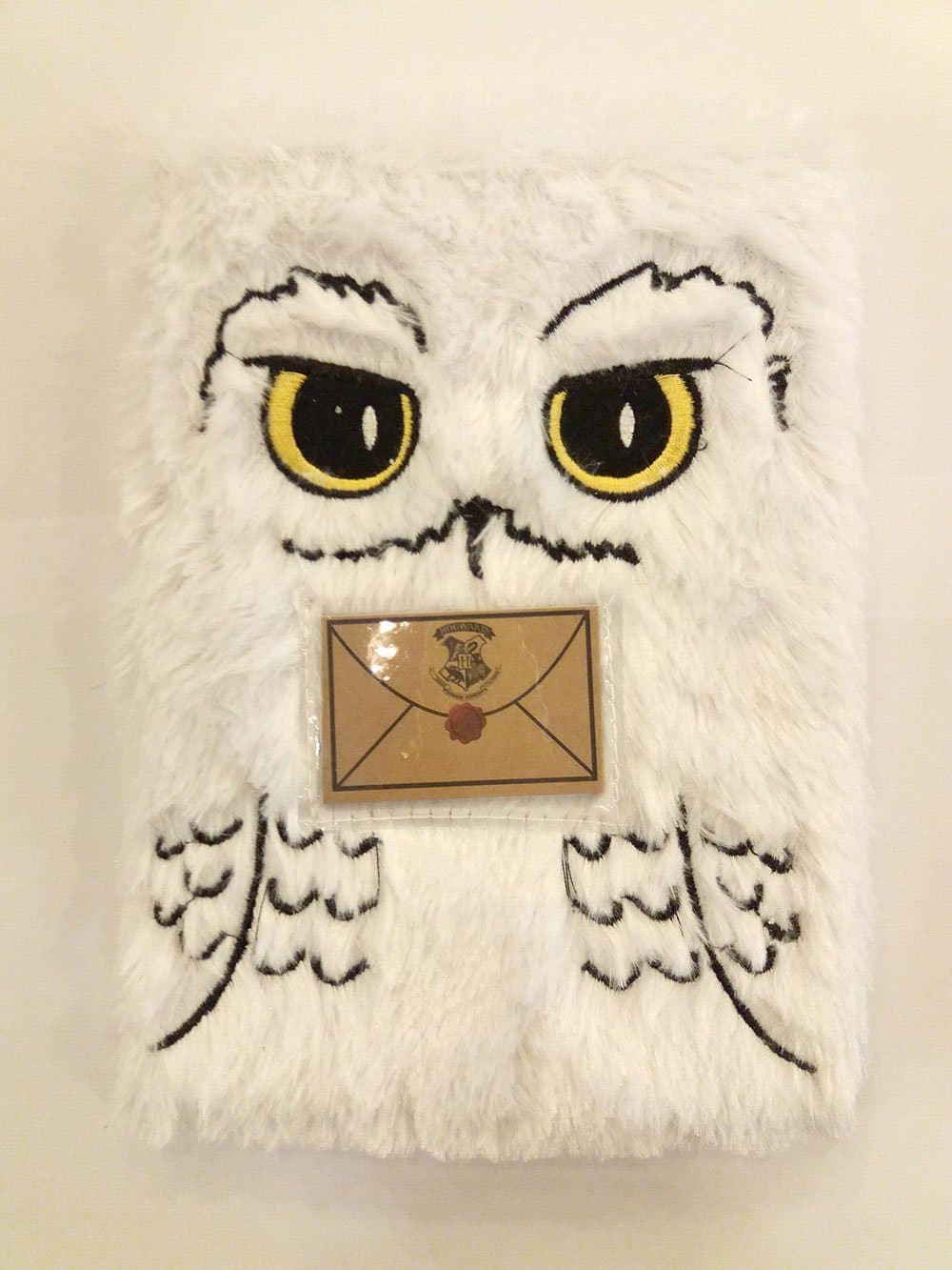 Peluche Hedwige Harry Potter A5 Notebook Plush Hedwig