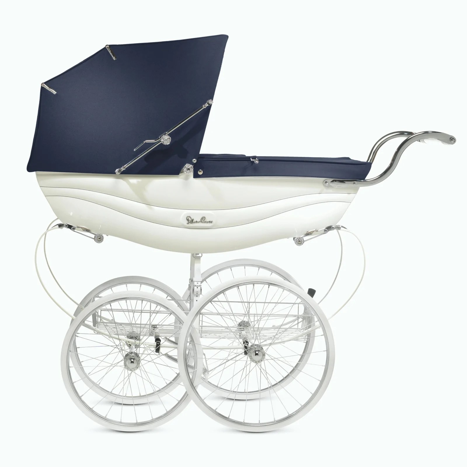Newborn Stroller Nz Balmoral Pram White And Navy
