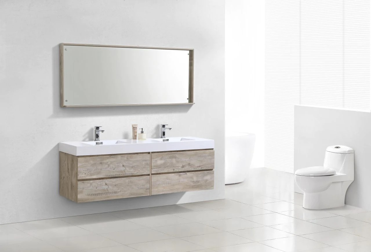 Bathroom Vanity 72 Double Sink Kubebath Bliss 72