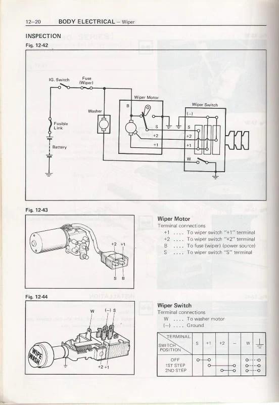 75 Series Landcruiser Headlight Wiring Diagram Electrical Circuit