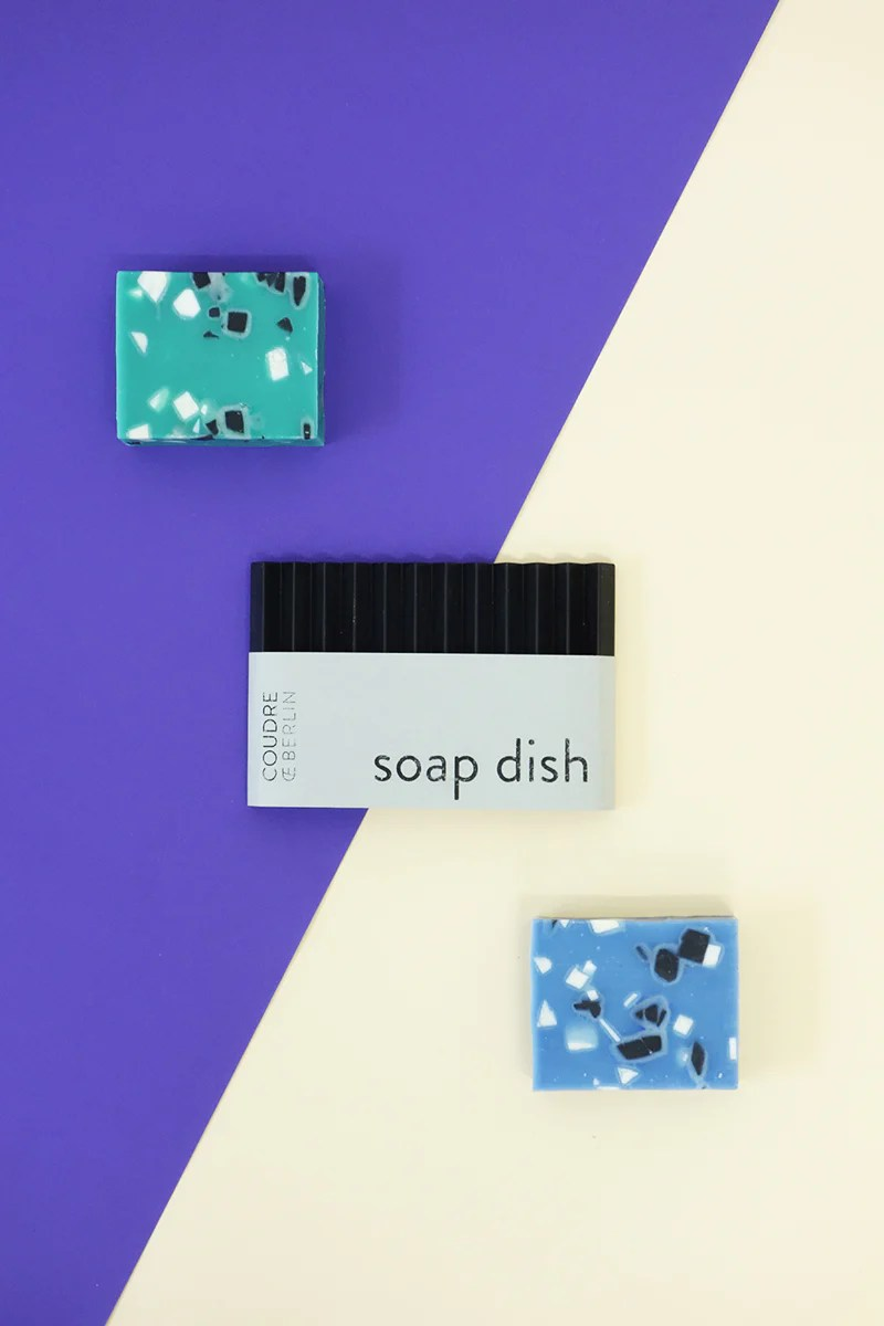 Seife Berlin Set Seifenschale & Seife / Set Of Soapdish & Soap – Coudre Berlin