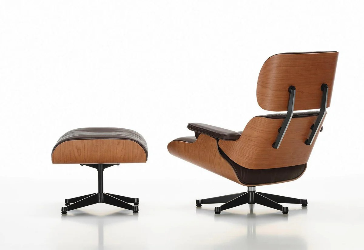 Chair Eames Vitra Eames Lounge Chair + Ottoman- American Cherry | Twentytwentyone