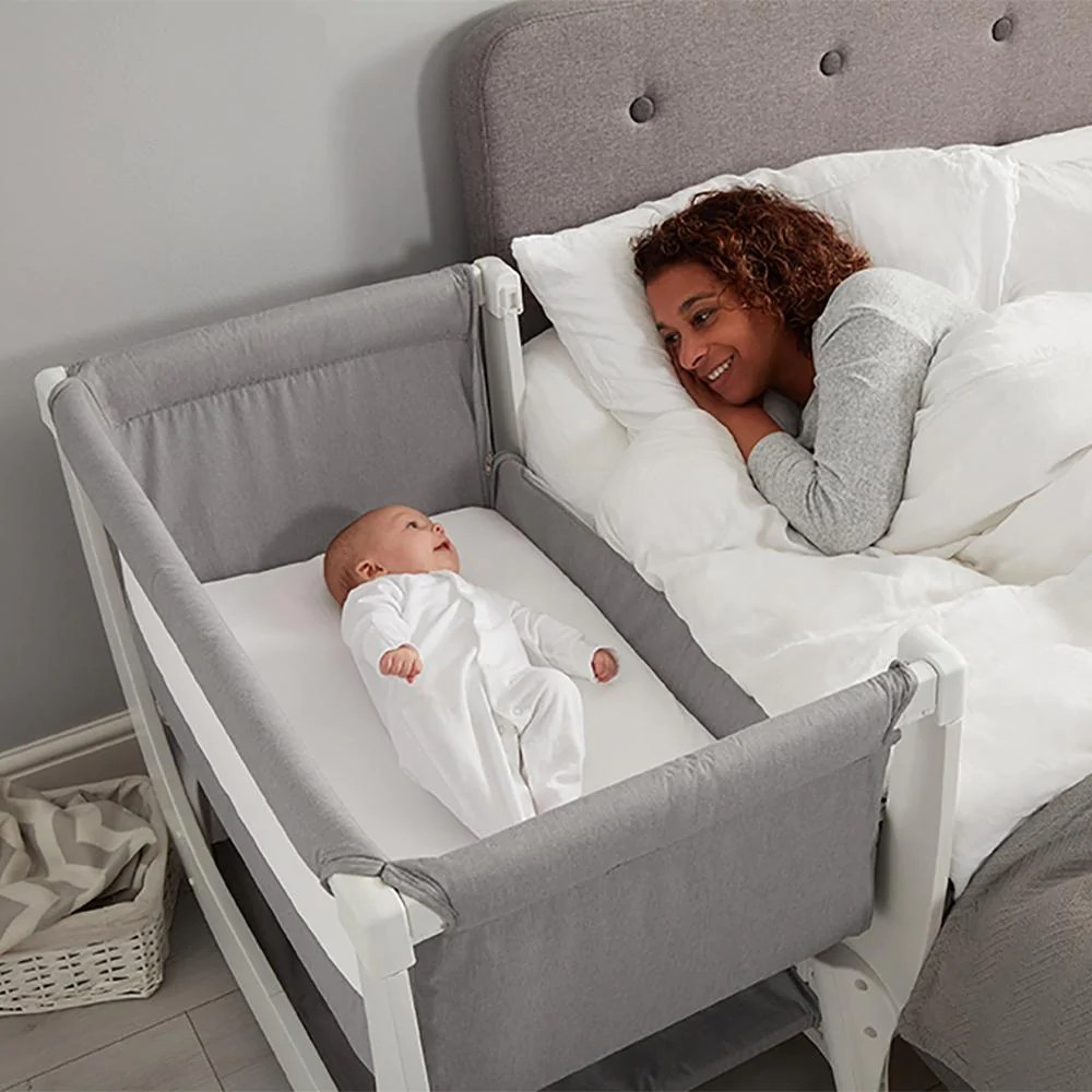 Baby Cots That Attach To Beds Shnuggle Air Bedside Crib